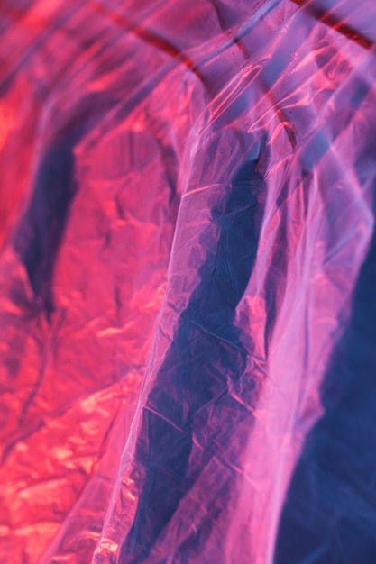 Texture of colorful plastic bag Free Photo