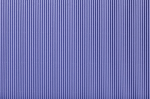 Texture of corrugated light violet paper, macro. Premium Photo