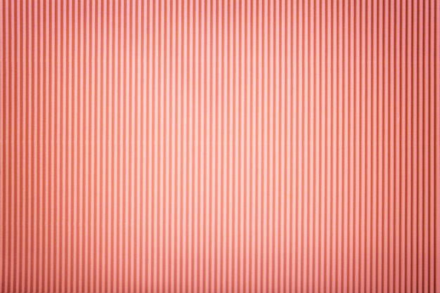 Texture of corrugated pink paper with vignette, Premium Photo
