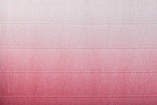 Texture of corrugated red and white paper with gradient Premium Photo