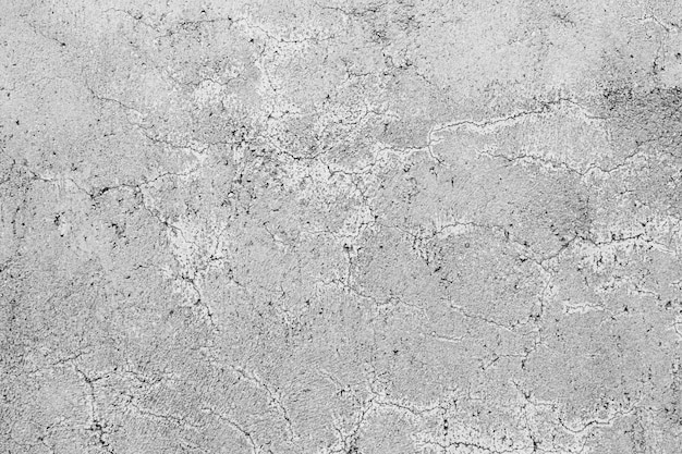 Texture of a grey concrete wall with curly cracks Free Photo