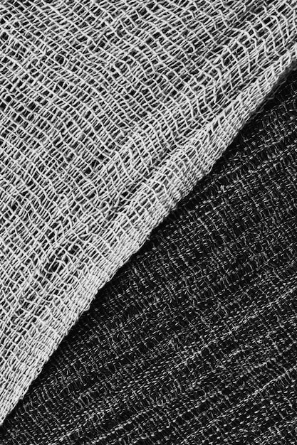 Texture of knitted woolen fabric for wallpaper and background,jersey fabric textured cloth Premium Photo