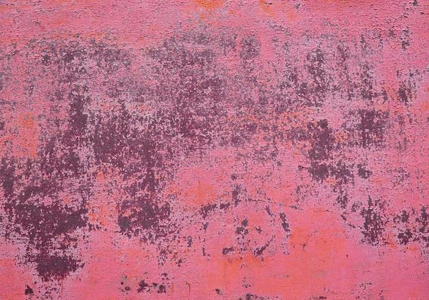 Текстура старой гранж ржавой стены Premium Фотографии