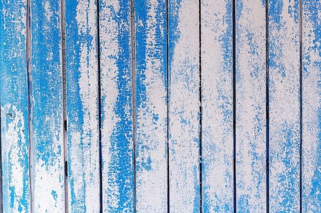 Текстура древесины синий узор детали панели Premium Фотографии
