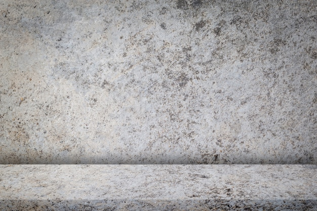 Texture of old dirty concrete wall and vintage design, for background Premium Photo