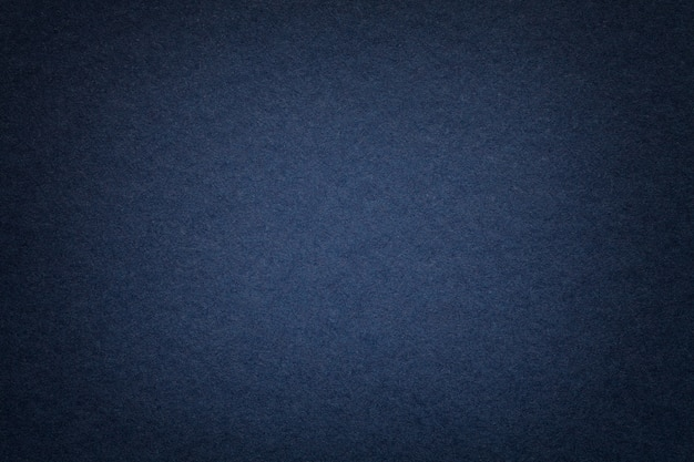 Texture of old navy blue paper background Premium Photo