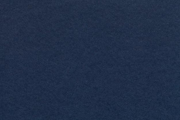 Texture of old navy blue paper closeup Premium Photo