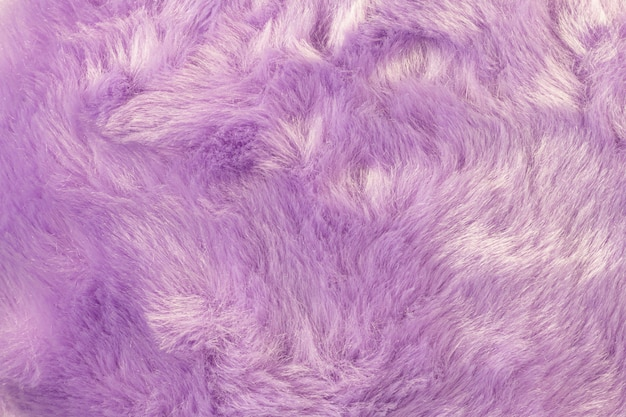 Texture of shaggy fur background. detail of soft hairy skin material. Premium Photo
