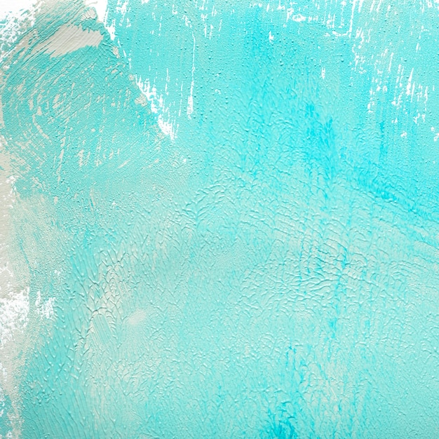 Textured paint of blue color Photo Free Download