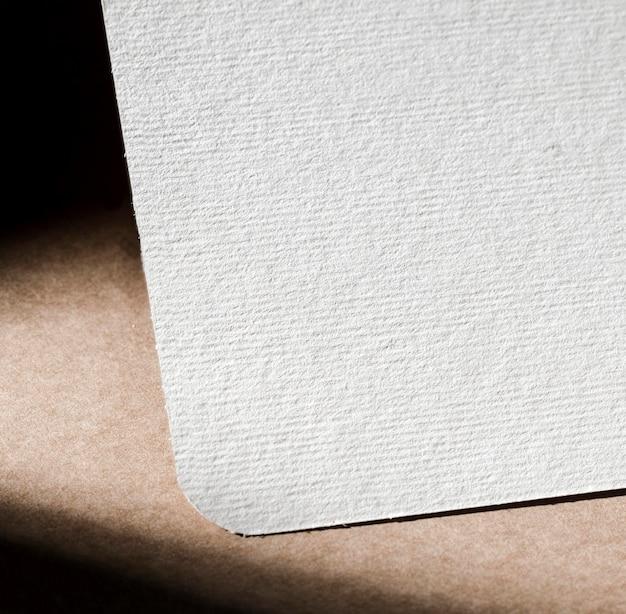 흰색 골 판지 클로즈업 질감 무료 사진