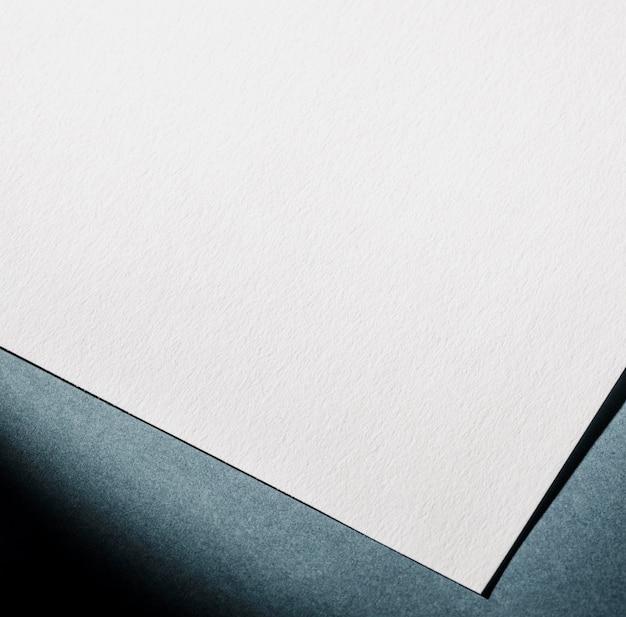 Текстурированная белая бумага крупным планом брендинг Бесплатные Фотографии