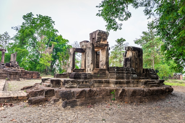 Thai archaeological site. can be found in nakhon ratchasima province thailand Premium Photo