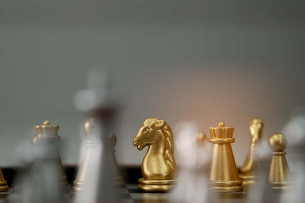 Thai chess, wooden chess, hobby Premium Photo