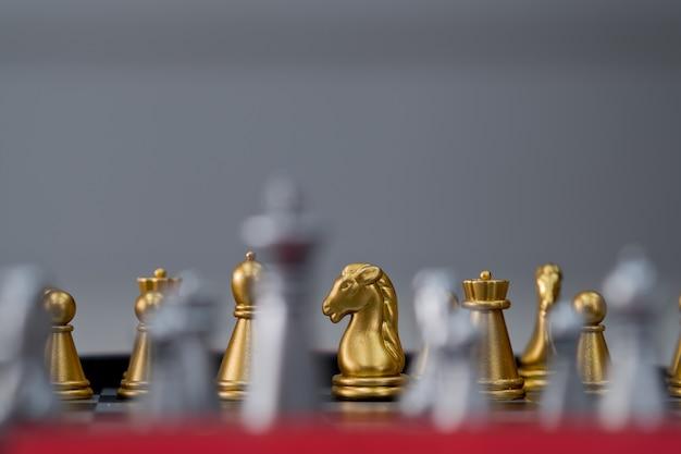 Thai chess, wooden chess, hobby Premium Photo
