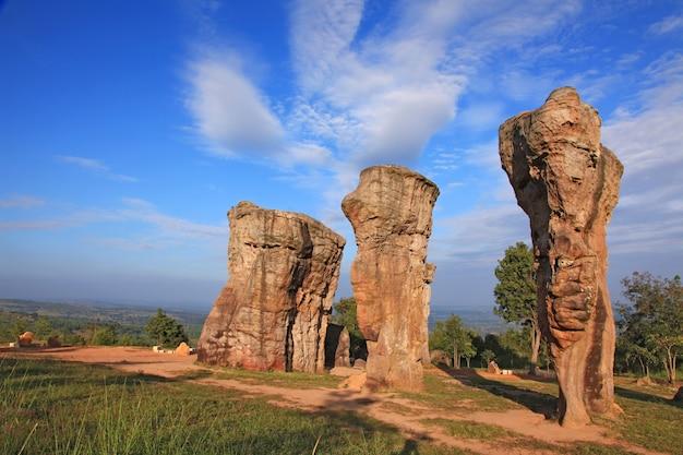 Thailand stonehenge, mor hin khao Premium Photo