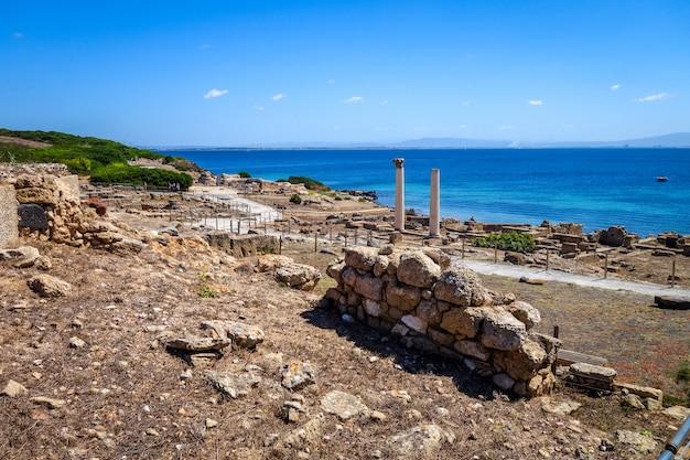 Таррос археологические раскопки на сардинии Premium Фотографии