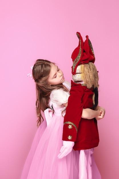 くるみ割り人形と美容バレリーナ 無料写真