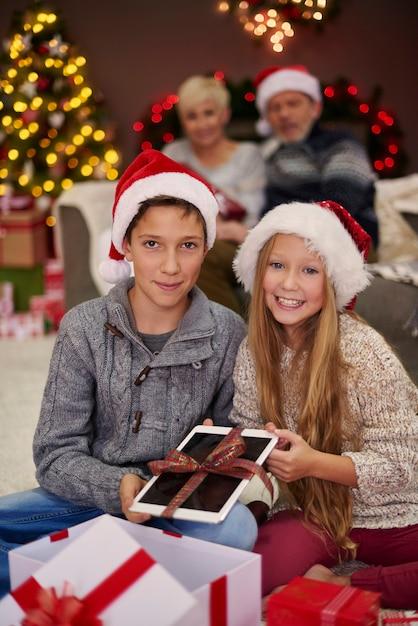最高の贈り物は私たちの両親から来ます 無料写真
