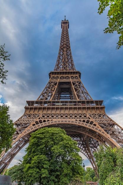 The Eiffel Tower Symbol Of Paris France Photo Premium Download