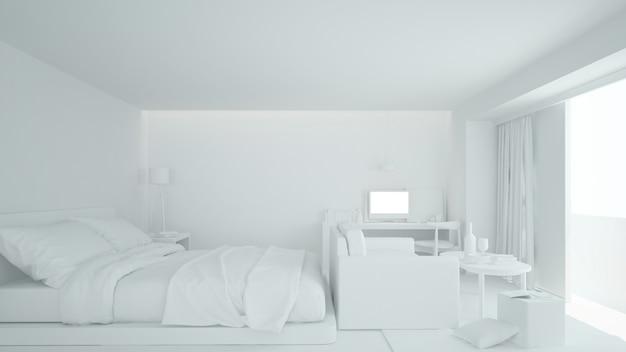 인테리어 침실 가구 프리미엄 사진