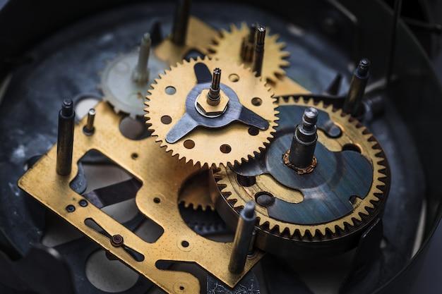 시계 메커니즘의 매크로보기 무료 사진