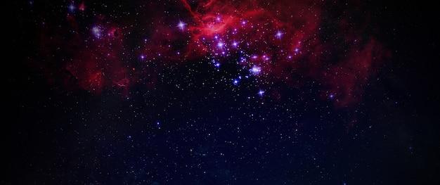 은하수 추상 은하수 은하 배경 벽지, 아티스트 아트, 전망대, 와이드 배너에서 볼 수 있습니다. Nasa가 제공 한이 이미지의 요소 프리미엄 사진