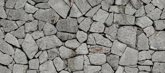 石造りの壁のテクスチャパターン背景。 Premium写真