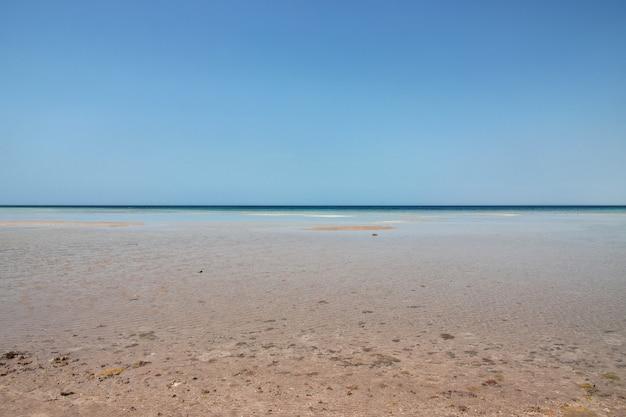 紅海、サウジアラビアの眺め Premium写真