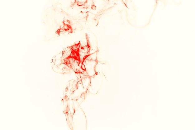 薄い橙色の煙 無料写真