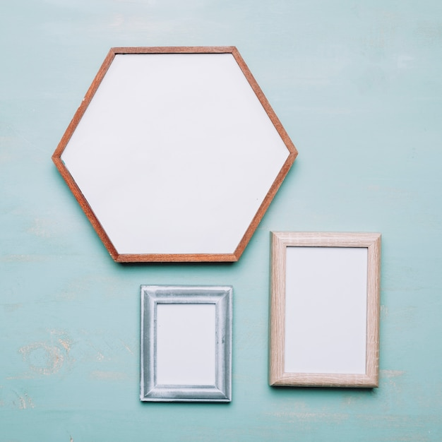 Three different frames Photo | Free Download