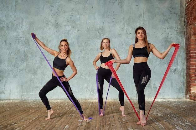 фитнес работа девушек