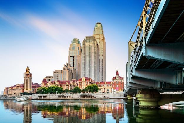 Tianjin cityscape Premium Photo