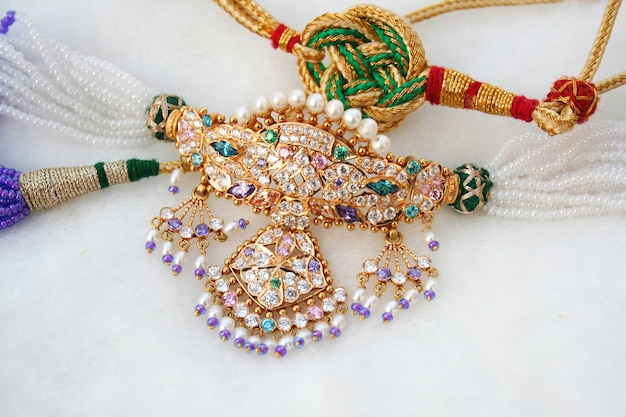 Timaniya necklace Premium Photo