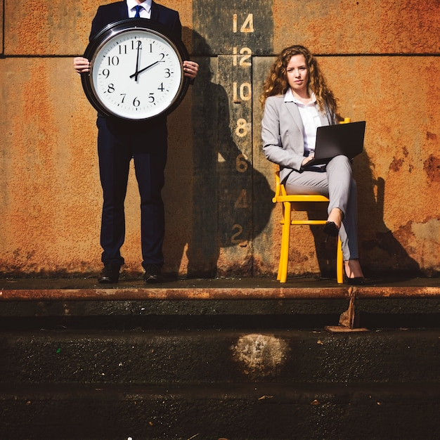 Time timing management schedule organisation concept Premium Photo