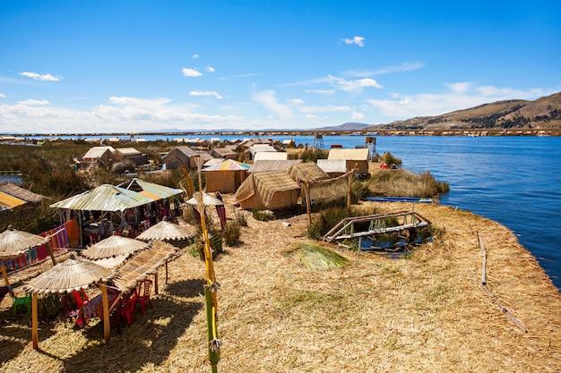 Titicaca lake Premium Photo