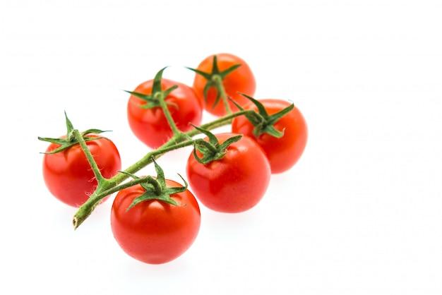Tomato isolated on white Free Photo