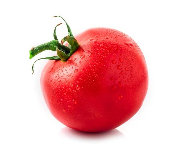 Tomatoes isolated on white Premium Photo