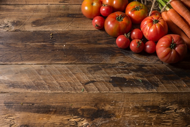 Tomatoes variety Premium Photo