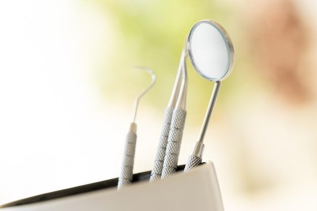 Набор зубных щеток для ухода за зубами Premium Фотографии