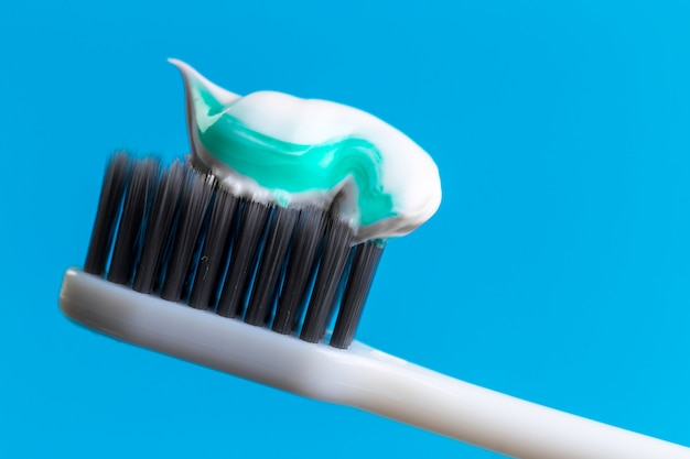 Toothbrush and toothpaste Premium Photo