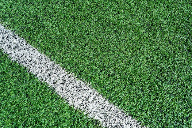Top view of artificial turf Premium Photo