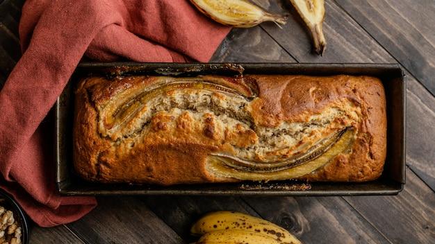 Банановая булочка, вид сверху Бесплатные Фотографии