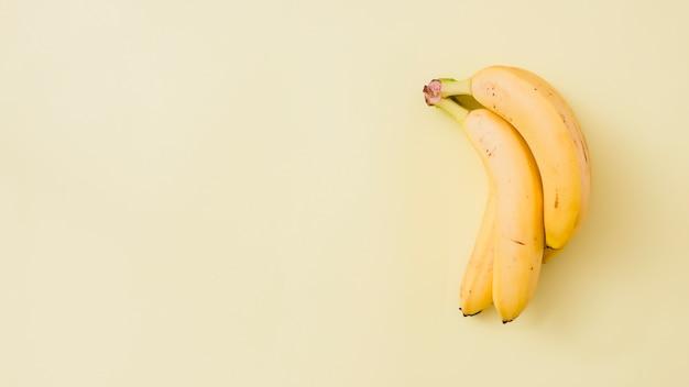 Top view bananas Free Photo