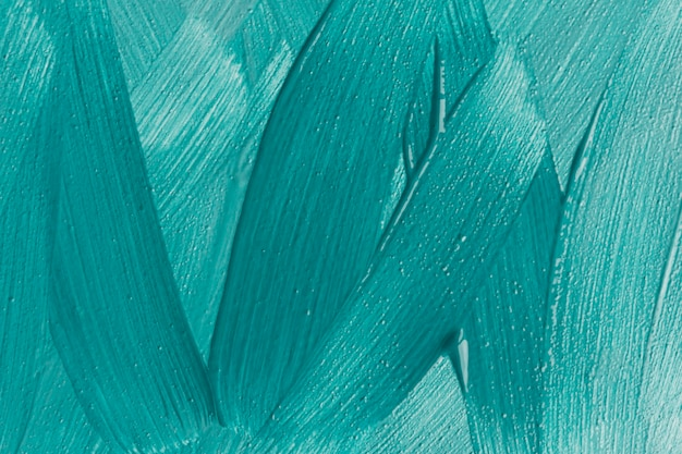 Top view of blue paint brush strokes Free Photo