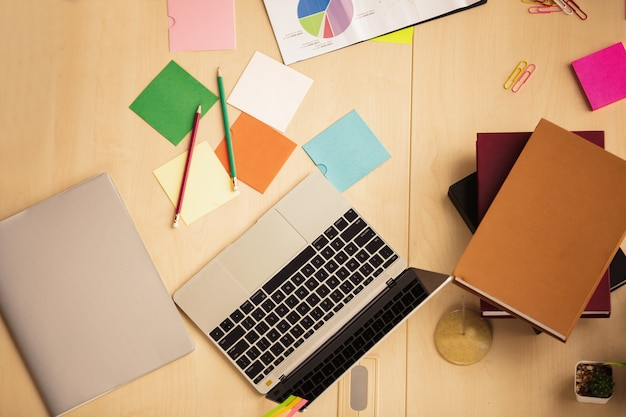 Top view of business people Premium Photo