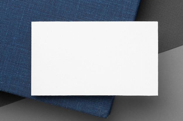 Визитная карточка вид сверху Бесплатные Фотографии