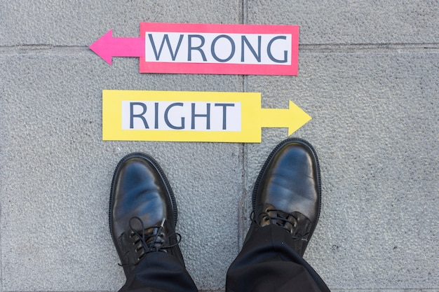 what is right and wrong