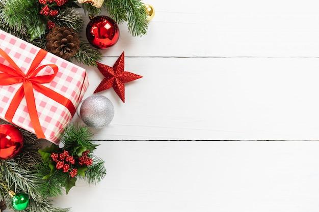 Christmas Tree Top View.Top View Of Christmas Tree And Christmas New Year Holidays