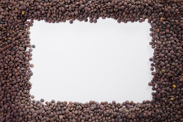 Top view collection of lentils with copy space Free Photo