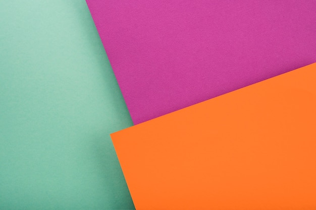 Top view of colorful paper sheets Free Photo